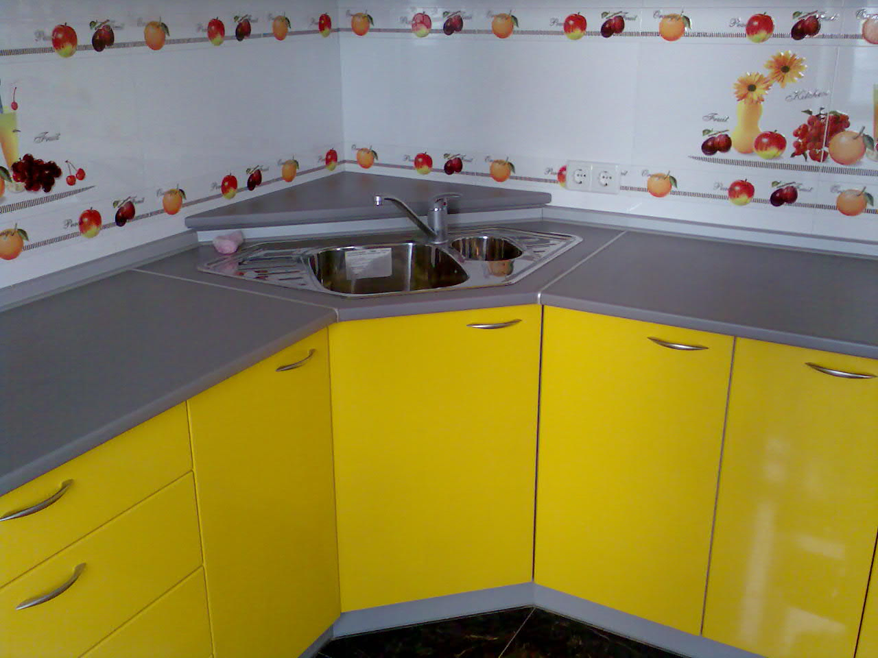 кухонные фасады после самостоятельной замены