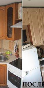 кухонные фасады после замены