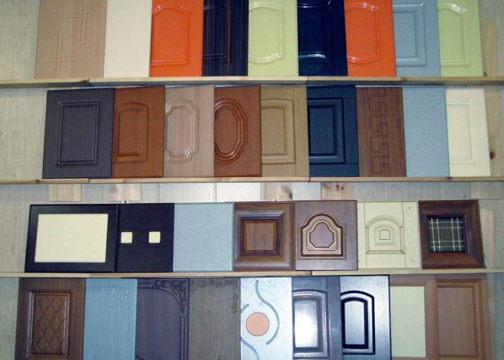 ассортимент фасадов