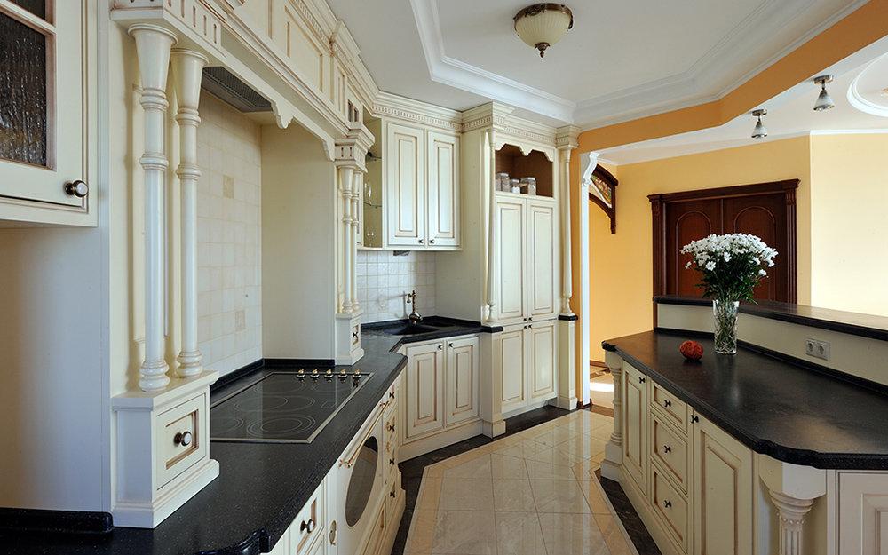 кухня нетипичной формы