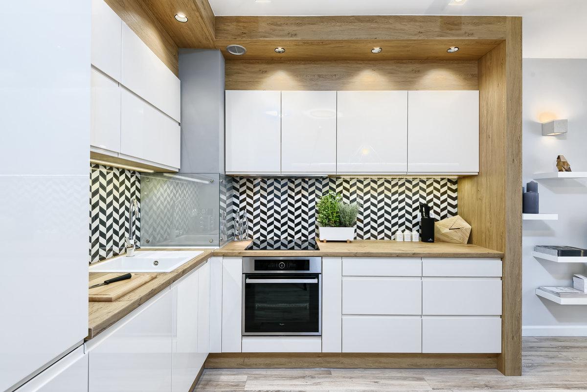 экологичный стиль белой кухни