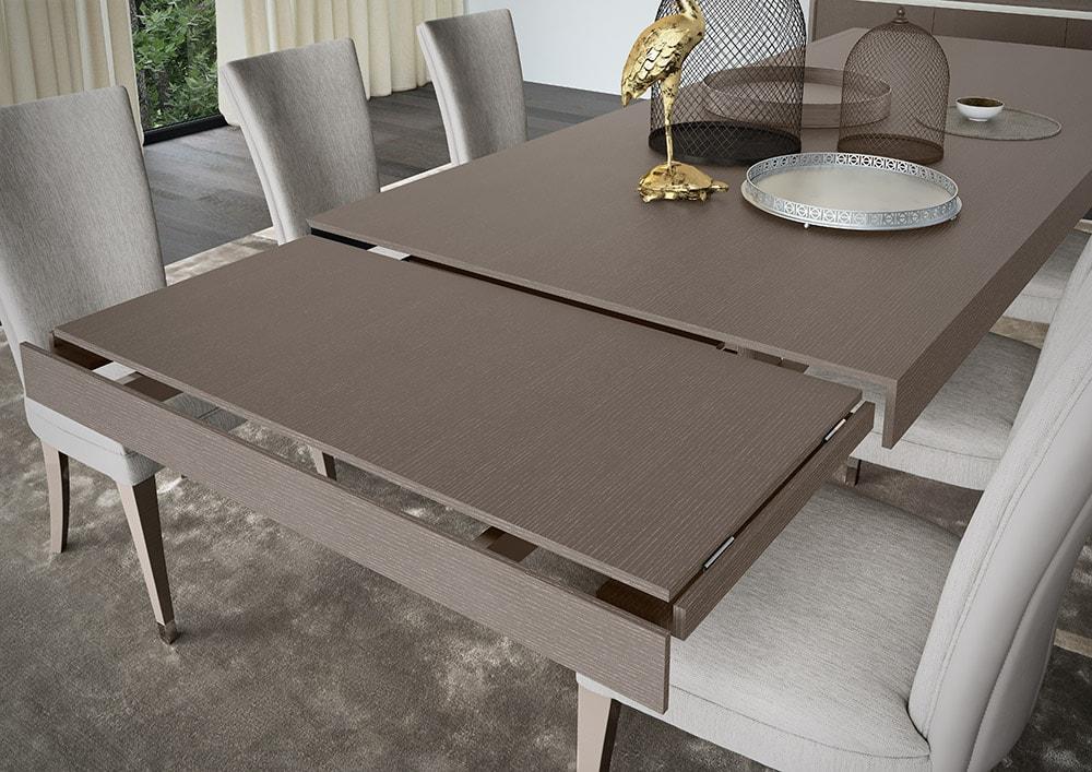 стол с выдвигающейся частью