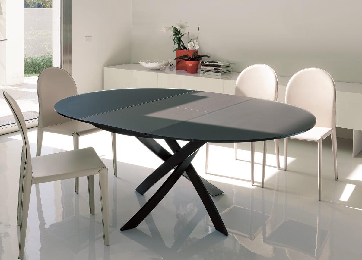 овальный раскладной стол для кухни