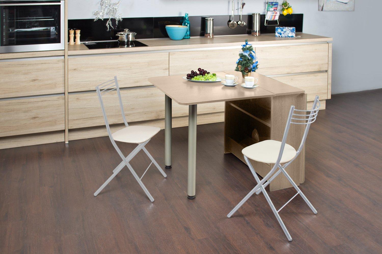 квадратный раскладной стол для кухни