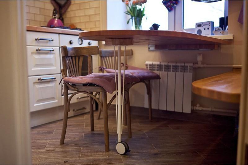 раскладной стол-подоконник
