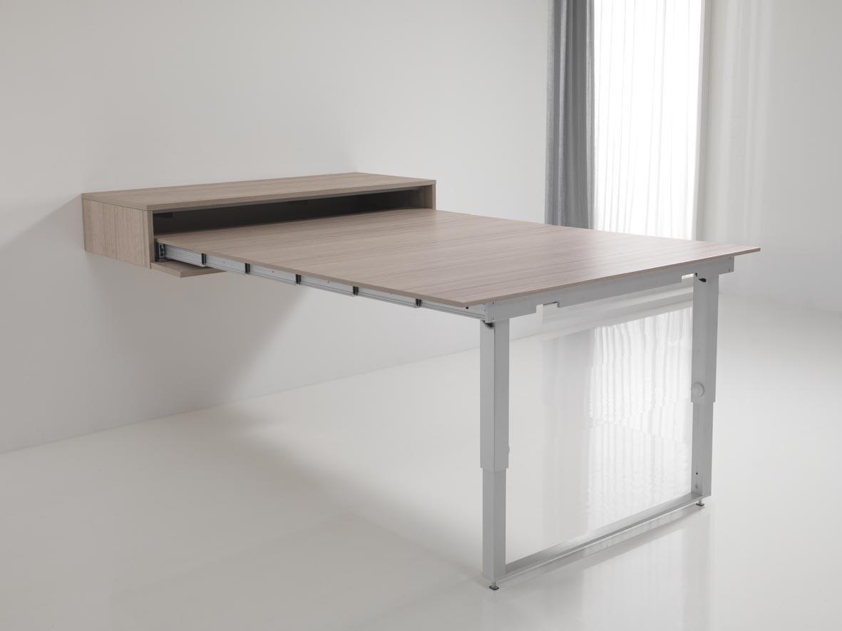 выдвижной стол из стены