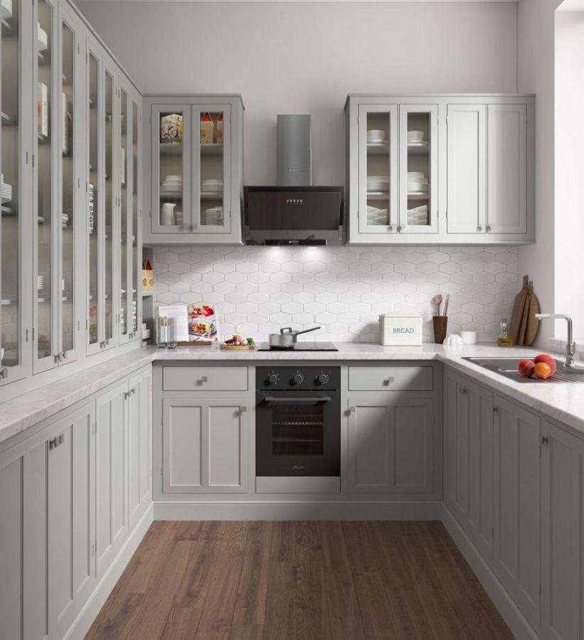духовка Fornelli FEA 45 Corrente BL в интерьере кухни