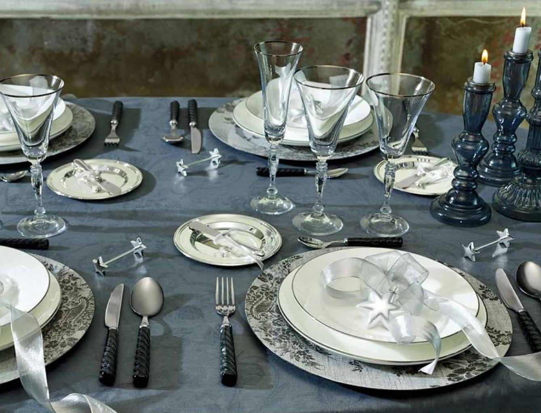 сервировка тарелок