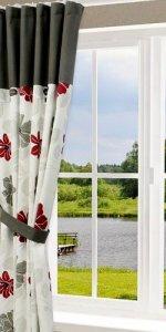 шторы из натуральной ткани