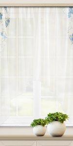 фото штор небольшой длины