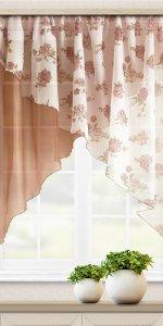 необычные короткие шторы