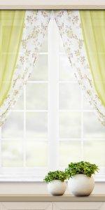 дизайн красивых коротких штор