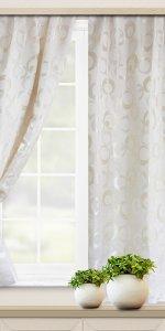 фото красивых коротких штор