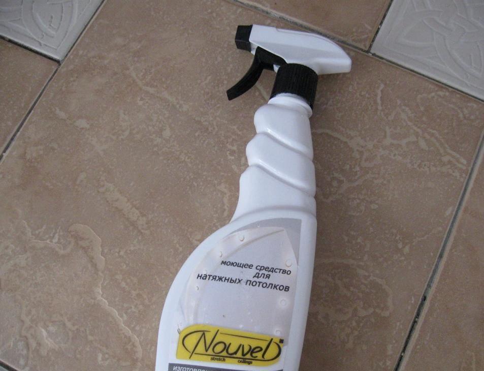 средство для очистки потолков nouvel