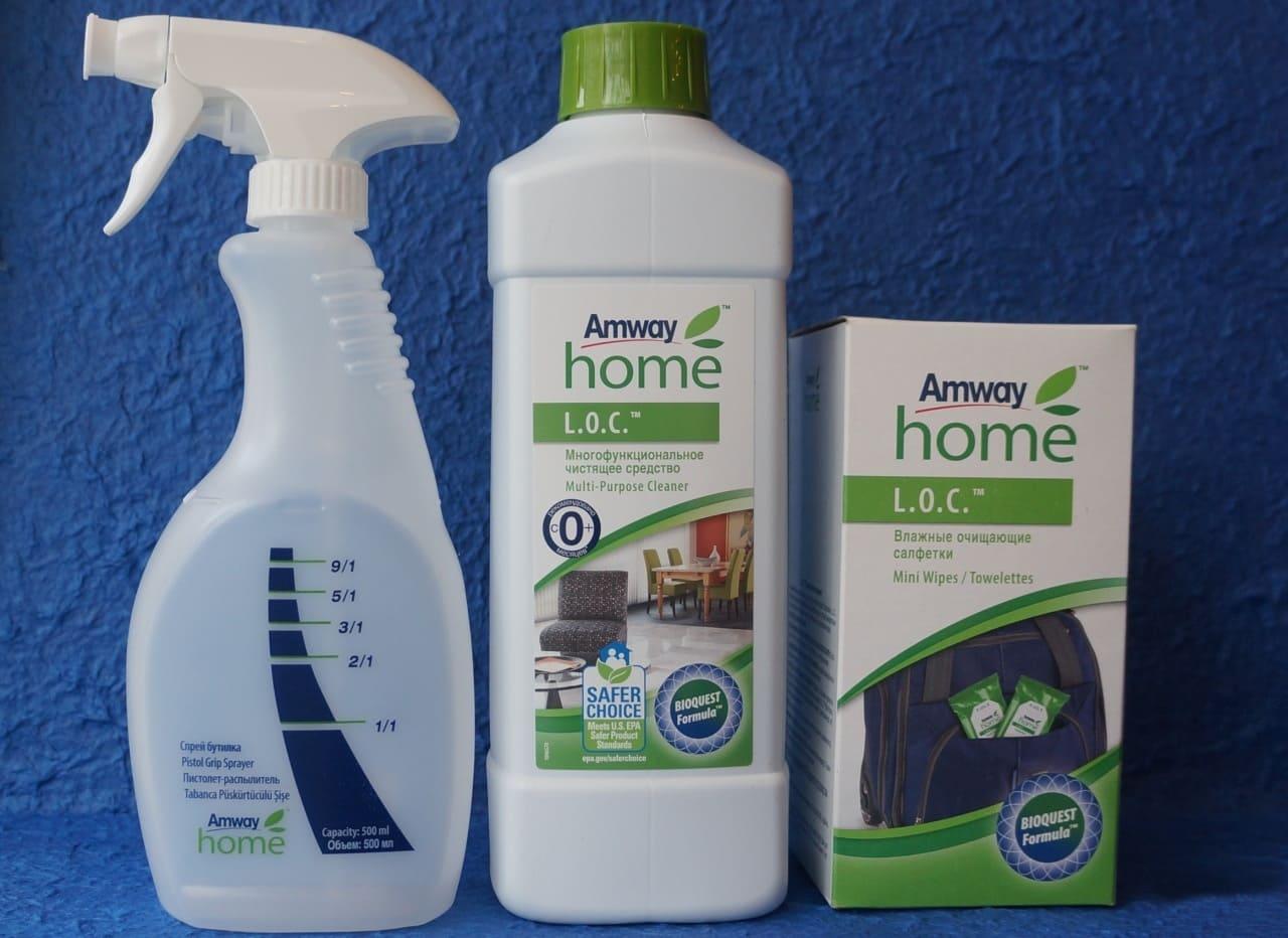 средство для очистки потолков loc amway