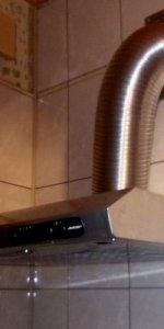 вытяжка с отводом в вентканал