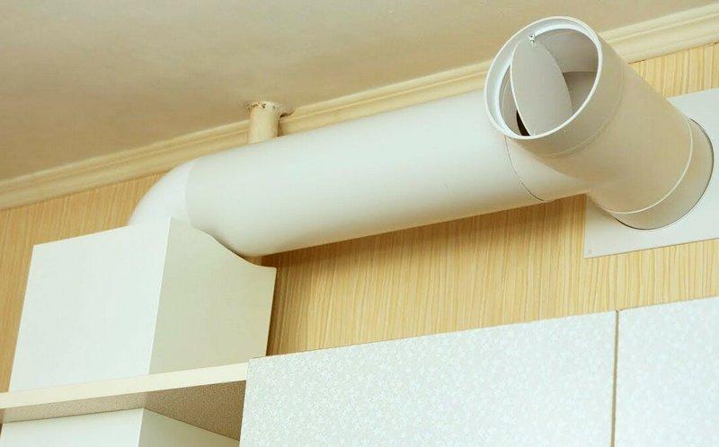 естественная вентиляция на кухне