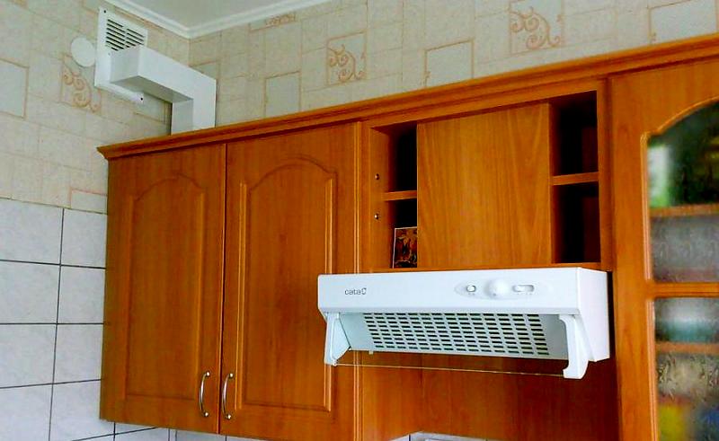 принудительная вытяжная система на кухне