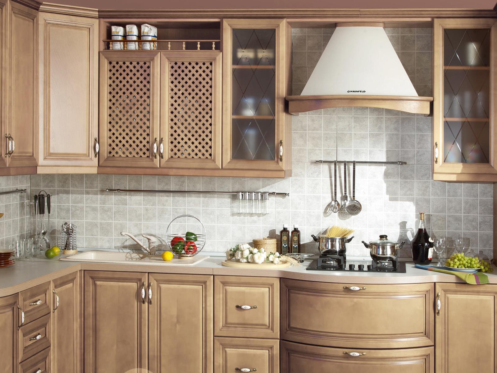 вытяжка под дизайн кухни