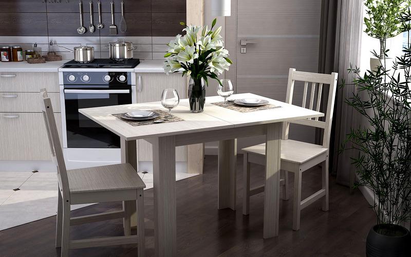складной обеденный стол для кухни