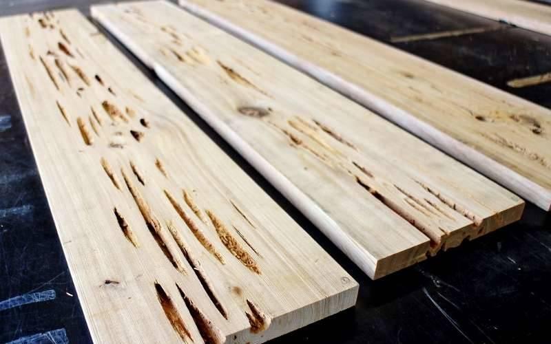 подготовка материалов для создания стола