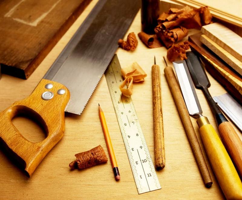 строительные инструменты по дереву