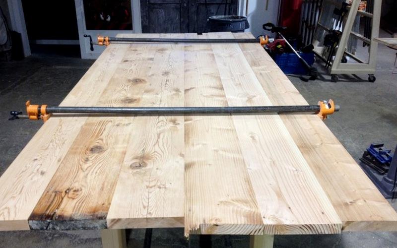 материалы для стола из дерева