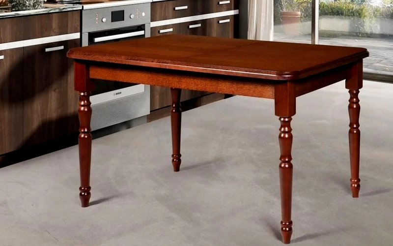 обеденный стол из ольхи
