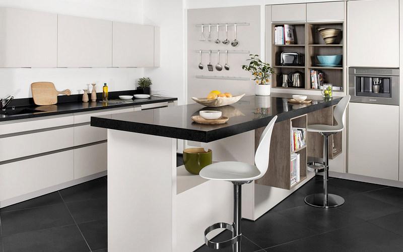 дизайн барной стойки-стола для кухни