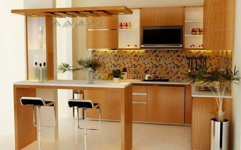 основание барной стойки на кухне
