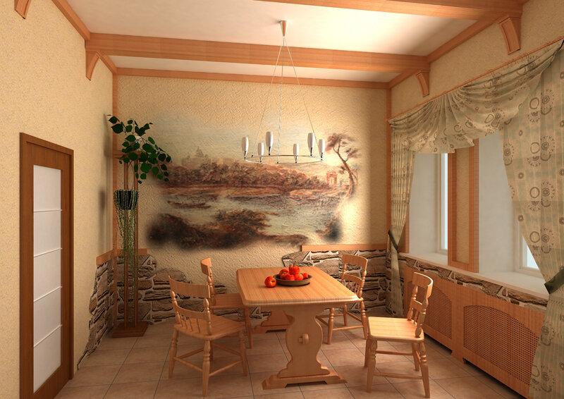 разрисованная стена