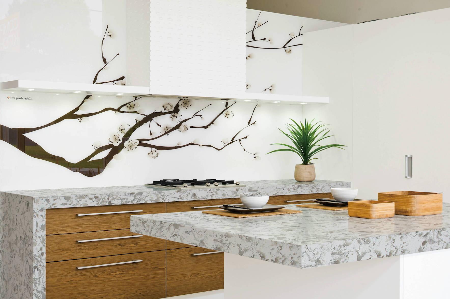 рисунки на кухне в эко-стиле