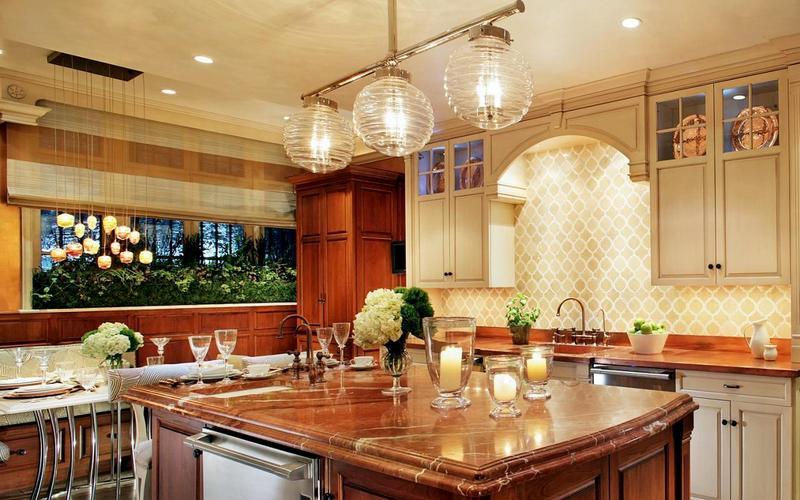 как правильно сделать освещение на кухню