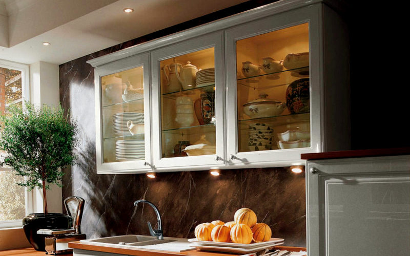 подсветка для шкафов на кухне