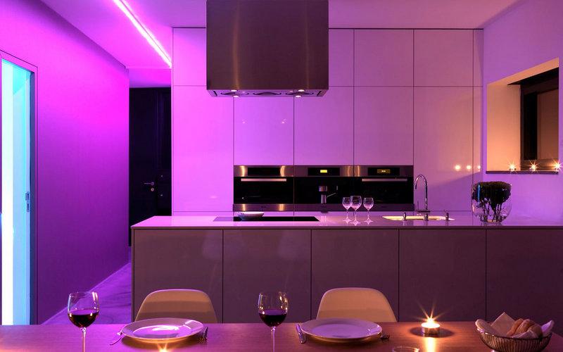 декоративная подсветка для кухни