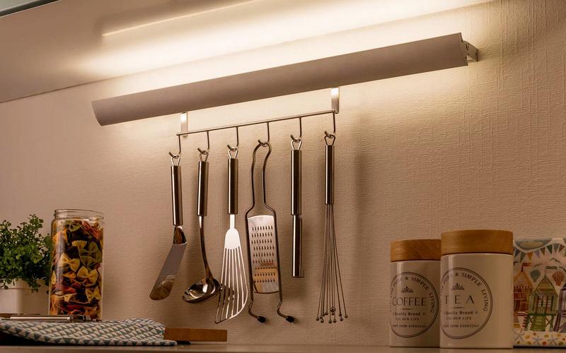 креативная подсветка на кухню