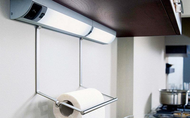 люминесцентные светильники на кухне