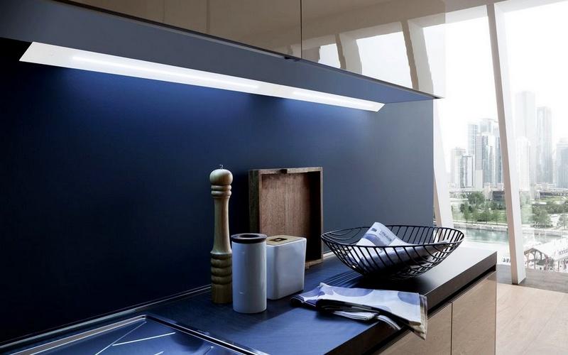 люминесцентное освещение на кухне