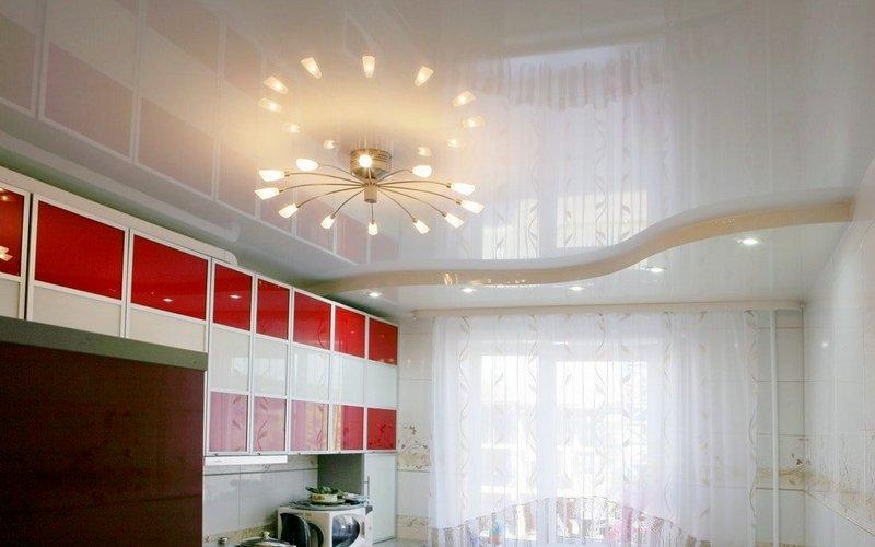 подсветка для натяжных потолков