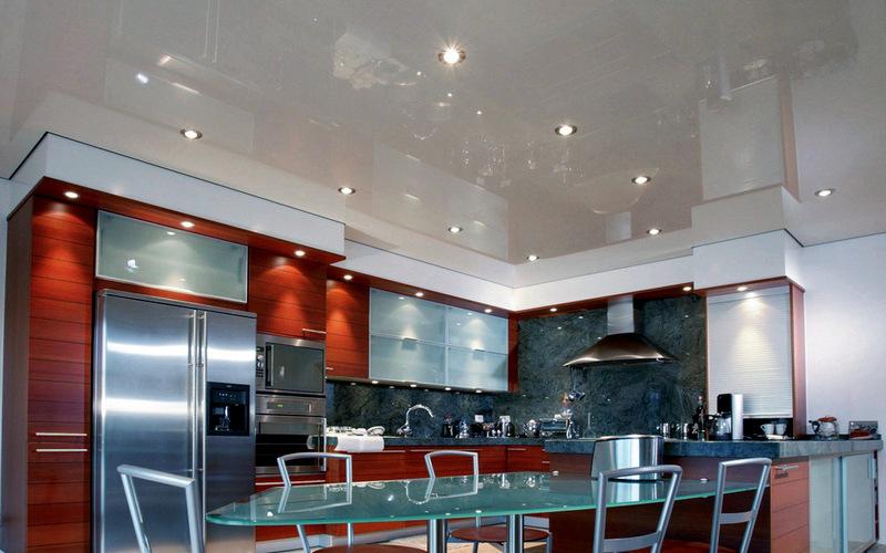 освещение для потолка на кухне