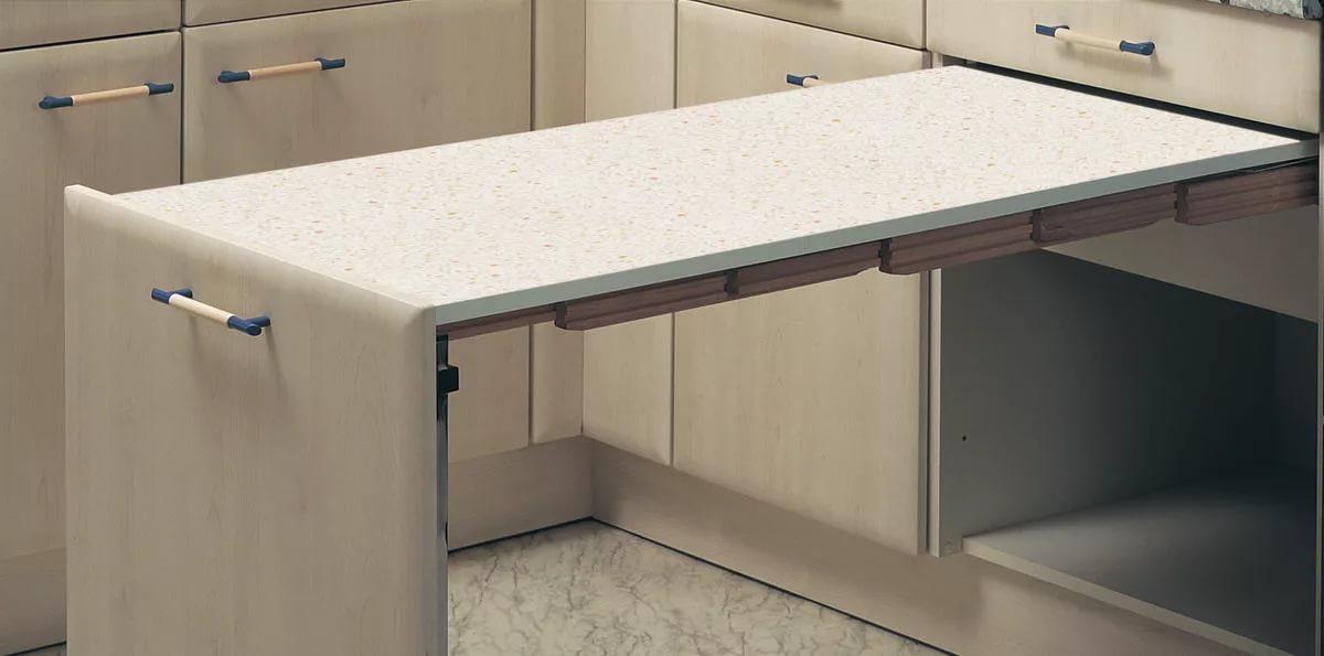 керамическая столешница выдвижной стол