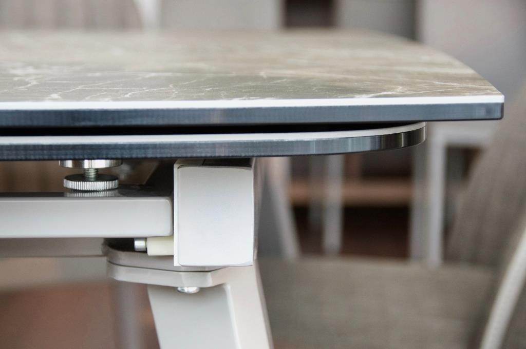керамическая столешница раздвижной стол