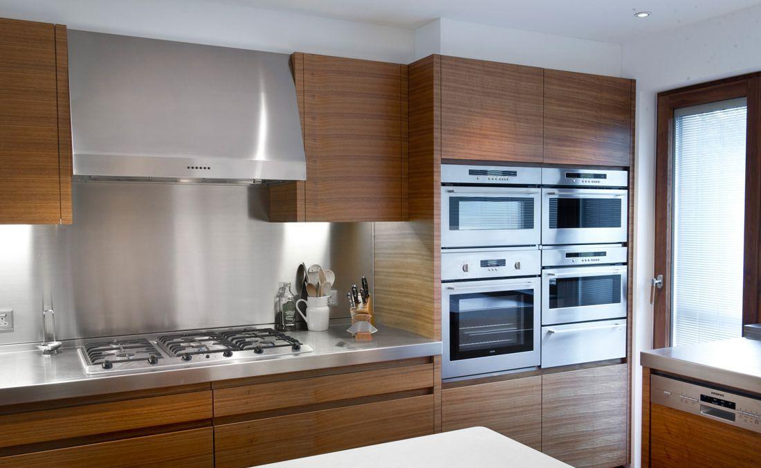 металлическая столешница newtek для кухни