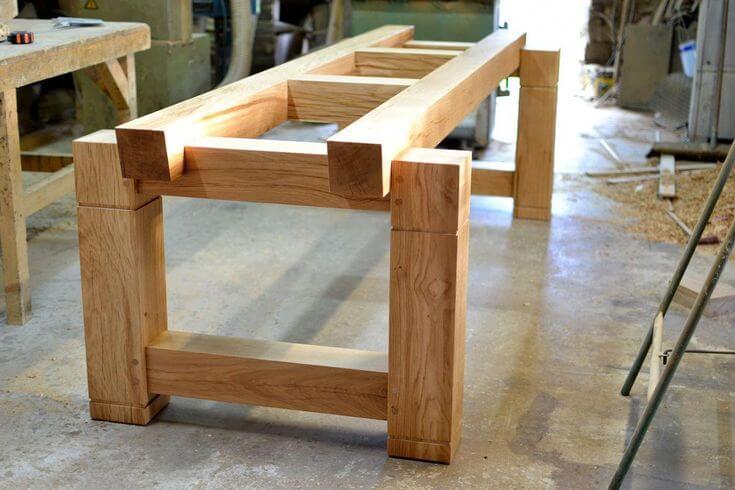 Подстолье для деревянного стола