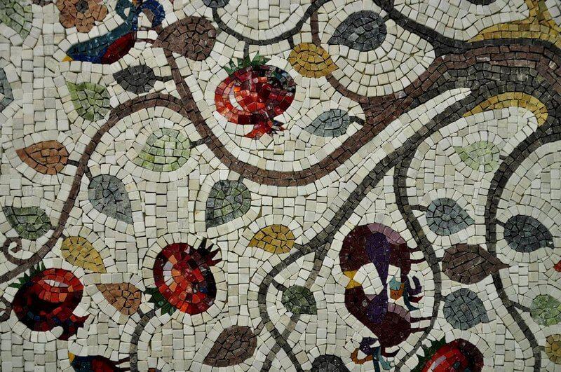 Мозаика для кухни из смальты