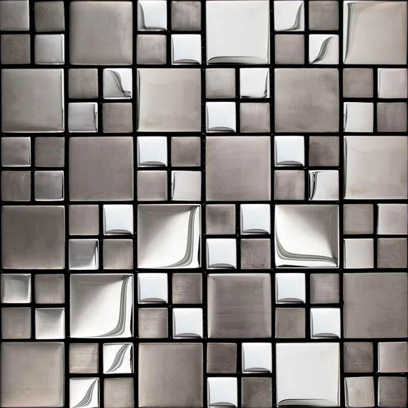 Металлическая мозаика для столешницы