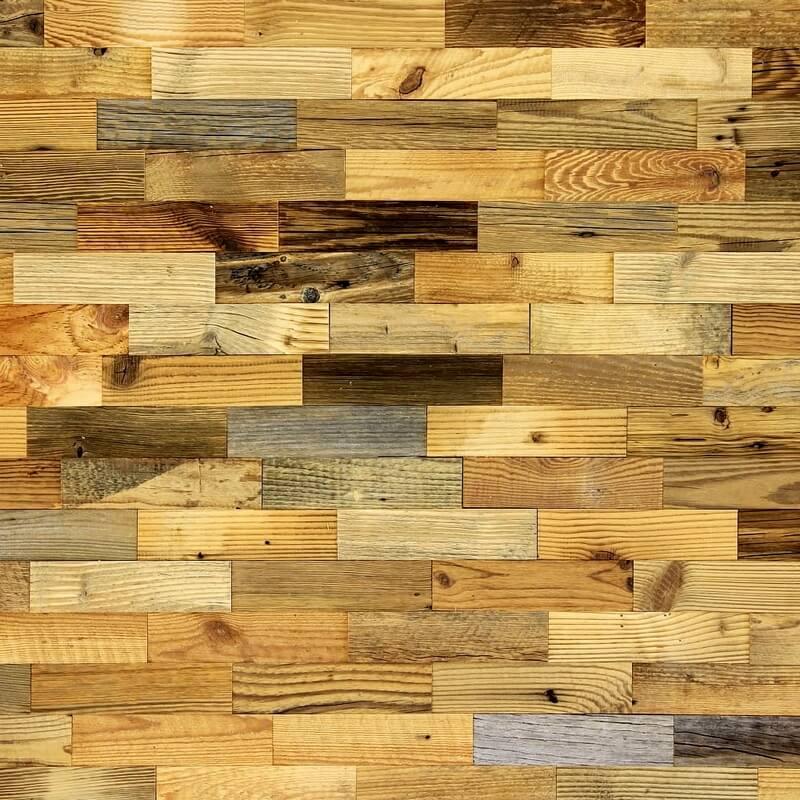 Мозаика для столешницы с деревянными элементами