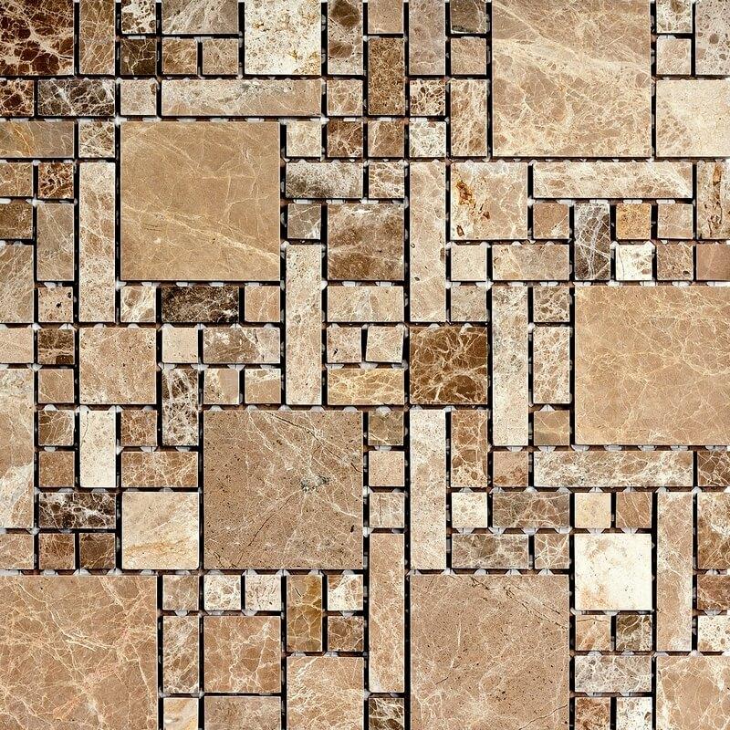 Мозаика для кухни из камня