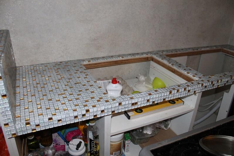 Мозаика на столешницу на кухню