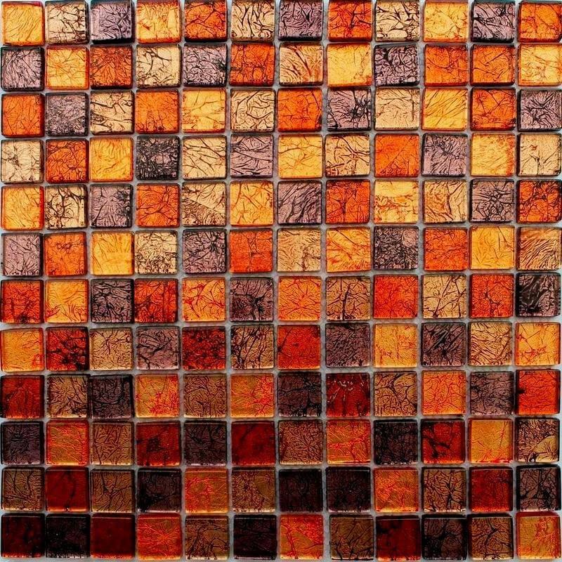 Стеклянная мозаика для столешницы